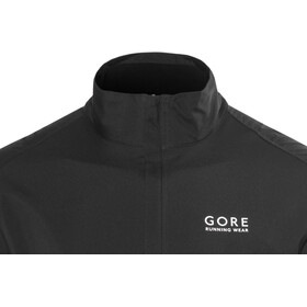 GORE RUNNING WEAR Essential WS Active Partial Chaqueta Hombre, black
